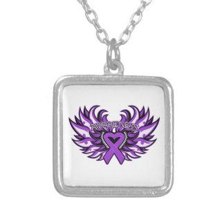 Corazón Wings.png de la conciencia de la epilepsia Collar