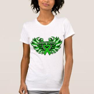 Corazón Wings.png de la conciencia de la Camiseta