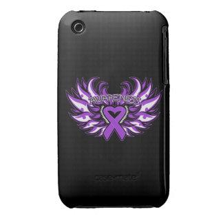 Corazón Wings.png de la conciencia de la sarcoidos Case-Mate iPhone 3 Carcasa