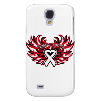 Corazón Wings png de la conciencia del cáncer de h