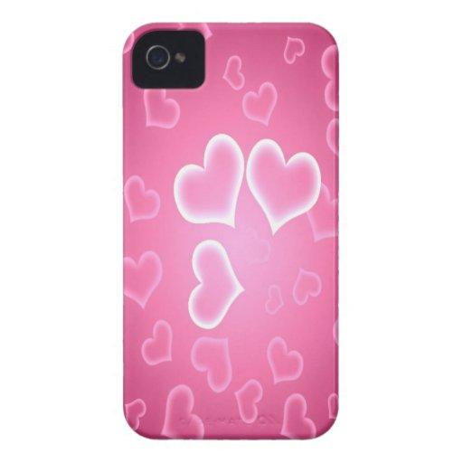 Corazón y amor Case-Mate iPhone 4 carcasa