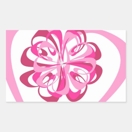 Corazón y cinta rectangular altavoz