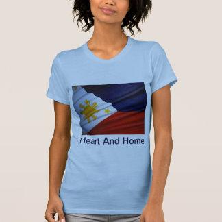 corazón y hogar de Filipinas Playera