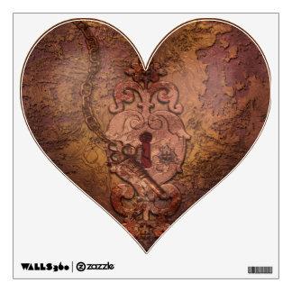 Corazón y llave de Steampunk