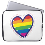 Corazón y palabras del orgullo gay manga computadora