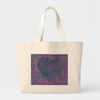 corazón y remolinos bolsas
