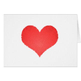 corazoncito tarjeta de felicitación