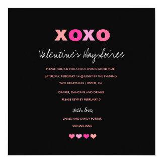 corazones 311-XOXO en un negro de la fila Comunicados Personales