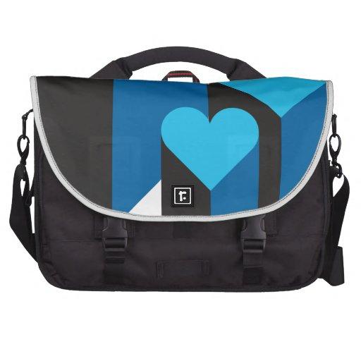 corazones 3d bolsas para portatil