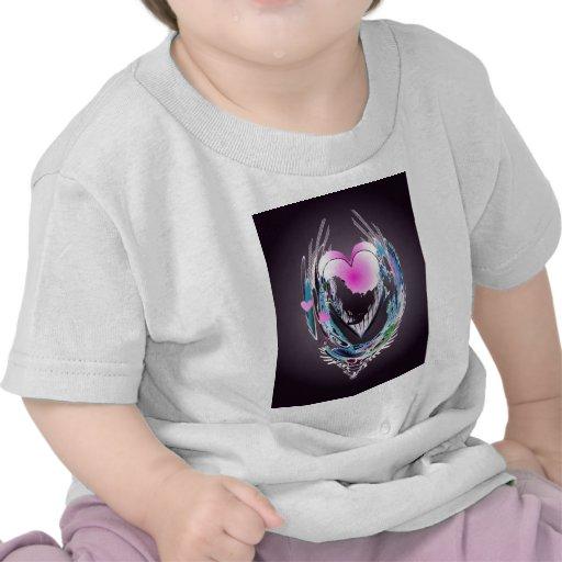 CORAZONES ABSTRACTOS de SHARON SHARPE Camiseta