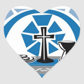 Corazones azules del boda del acento de la página pegatinas corazon personalizadas
