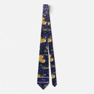 Corazones conocidos de encargo de los rosas del corbata