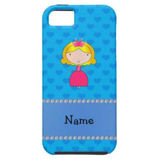 Corazones conocidos personalizados del azul de la iPhone 5 Case-Mate cárcasa