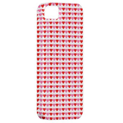Corazones, corazones, caso del iPhone 5 de los cor iPhone 5 Case-Mate Carcasas