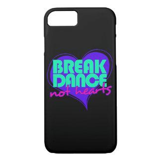Corazones de la danza de rotura no funda iPhone 7