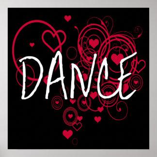 Corazones de la danza póster