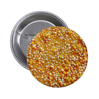 Corazones de la palomitas de maíz pins