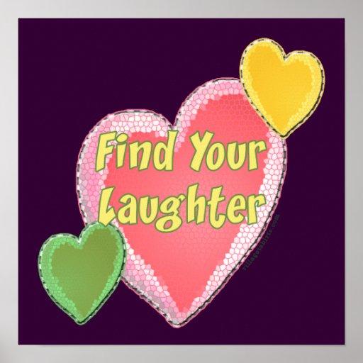 Corazones de la risa del amor impresiones