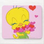 Corazones de la tarjeta del día de San Valentín de Tapetes De Ratones