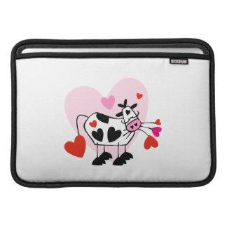 Corazones de la vaca funda macbook air