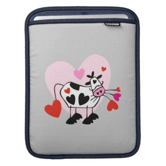 Corazones de la vaca funda para iPads