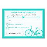 Corazones de moda azules de la bicicleta de comunicado personalizado