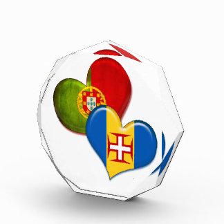 Corazones de Portugal y de Madeira