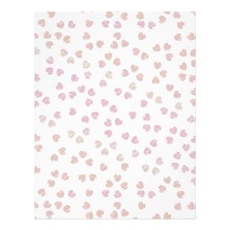 corazones de Sakura Plantillas De Membrete