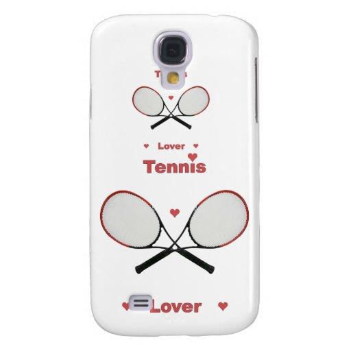 Corazones del amante del tenis