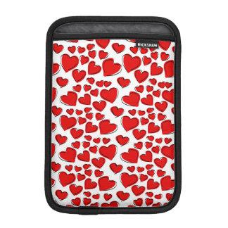 Corazones del amor de la tarjeta del día de San Funda Para iPad Mini