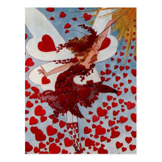 Corazones del amor de la tarjeta del día de San Postales