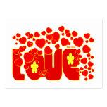 Corazones del amor - zona del 13:34 de Juan/ Tarjeta De Visita