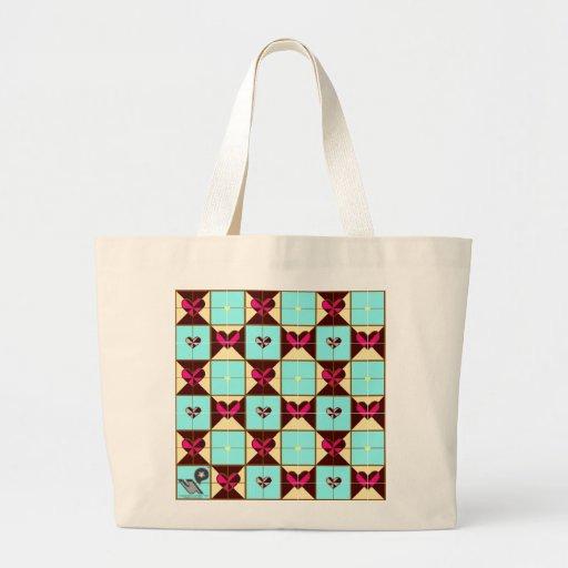 corazones del bag_blue bolsa