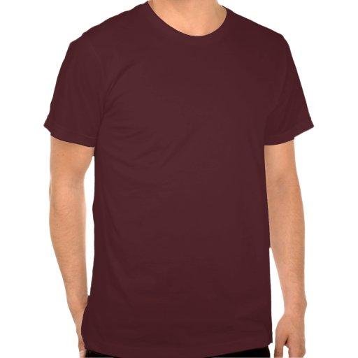 Corazones del búho del remiendo camiseta