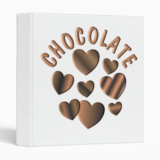 "Corazones del chocolate carpeta 1"""