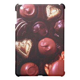 Corazones del chocolate dulce