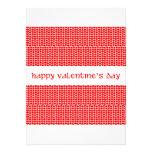 Corazones del el día de San Valentín Anuncio Personalizado