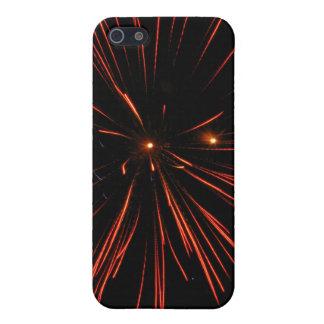 Corazones del fuego iPhone 5 carcasas