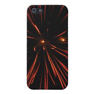 Corazones del fuego iPhone 5 fundas