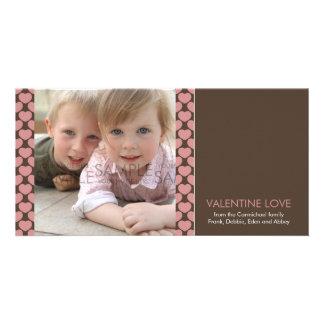 Corazones del invierno:: El día de San Valentín Ph Tarjetas Fotograficas Personalizadas