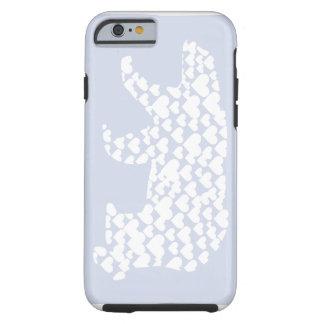 Corazones del oso polar de Kantno Funda De iPhone 6 Tough