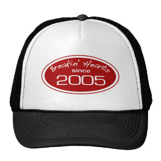 Corazones del robo desde 2005 gorras