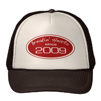 Corazones del robo desde 2009 gorras de camionero