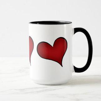 Corazones del rojo del el día de San Valentín
