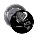 corazones del squiggle. trance pin