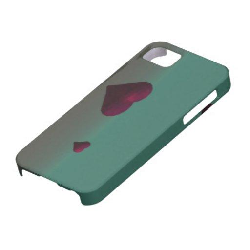 Corazones del vuelo iPhone 5 Case-Mate cárcasa
