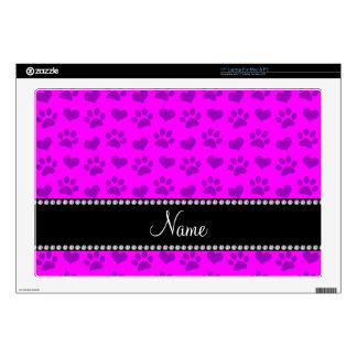 Corazones e impresiones rosados de neón conocidos  calcomanías para 43,2cm portátiles