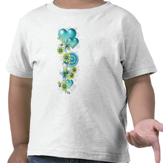 corazones encadenados camisetas