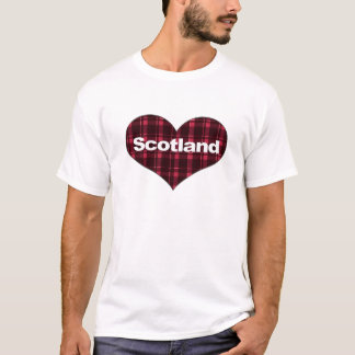 ¡Corazones escoceses! Playera