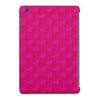 Corazones frustrados, mini caso Rosado-iPad Fundas De iPad Mini